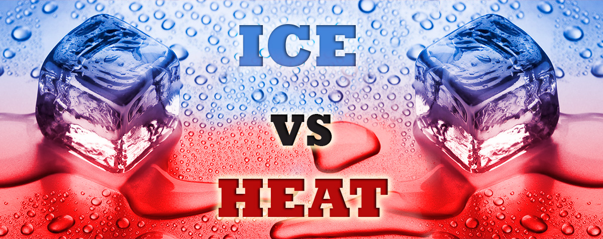 ice vs heat for your feet