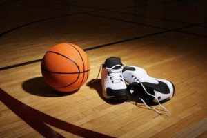 basketball and your feet