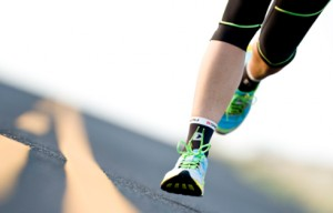 running and your feet