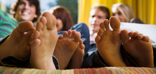 Teenagers and Foot Pain