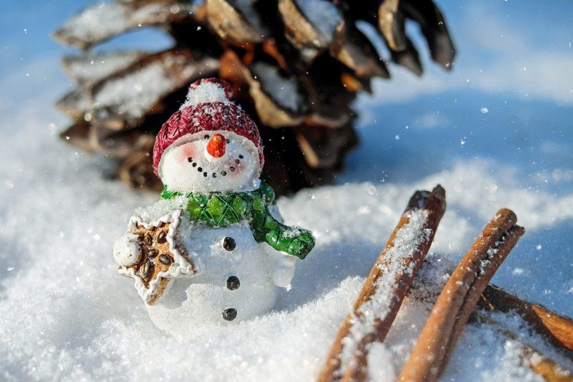Happy Holiday Snow Man
